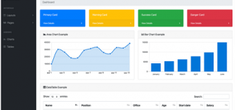 7 Free Bootstrap Dashboard Admin Themes