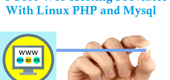 5 Free Web Hosting Providers With Linux PHP and Mysql
